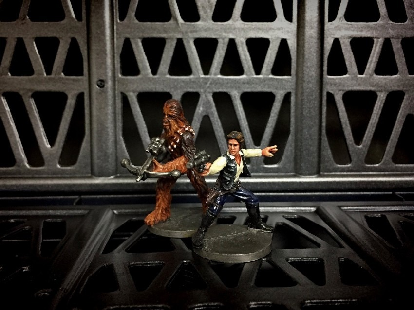 Han Solo & Chewbacca / FFG / Imperial Assault