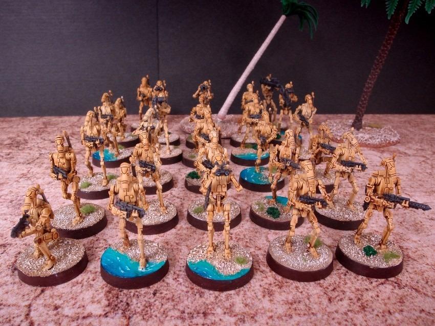 B1 Battle Droids / FFG / StarWars Legion