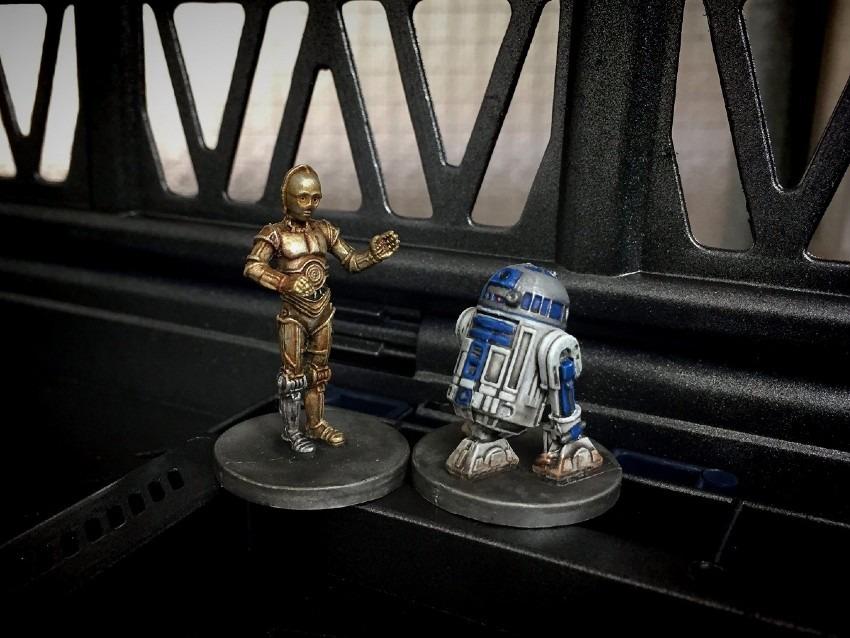 C3-PO & R2-D2 / FFG / Imperial Assault