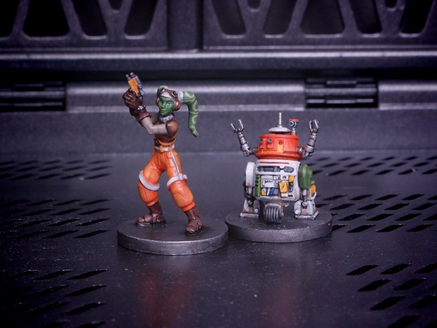 FFG / Imperial Assult / Hera Syndulla and C1-10P