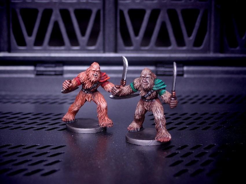 FFG / Imperial Assault / Wookiee Warrior
