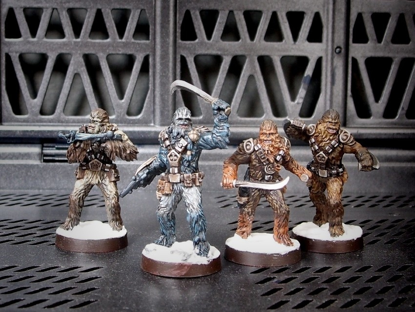 Wookiee Warriors / FFG / StarWars Legion