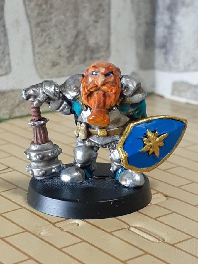 ドワーフの聖騎士「エルガド」