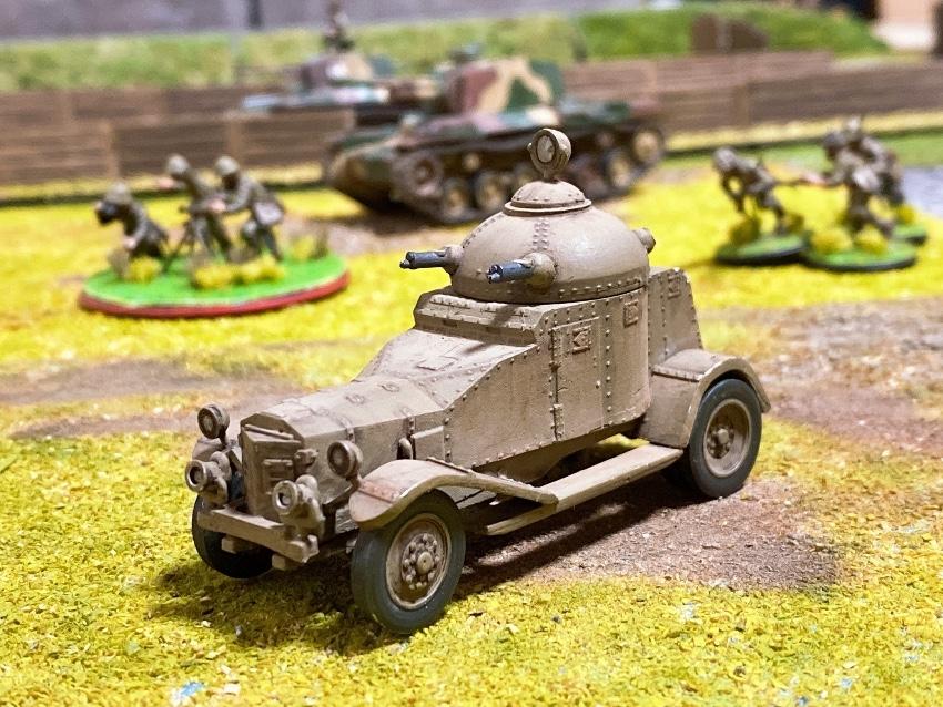 日本軍の装甲車