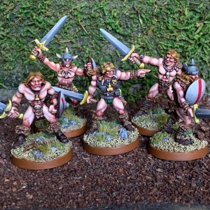 野人の戦士たち
