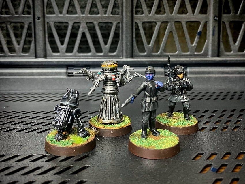 FFG / StarWars Legion / Imperial Specialists Personnel Expansion