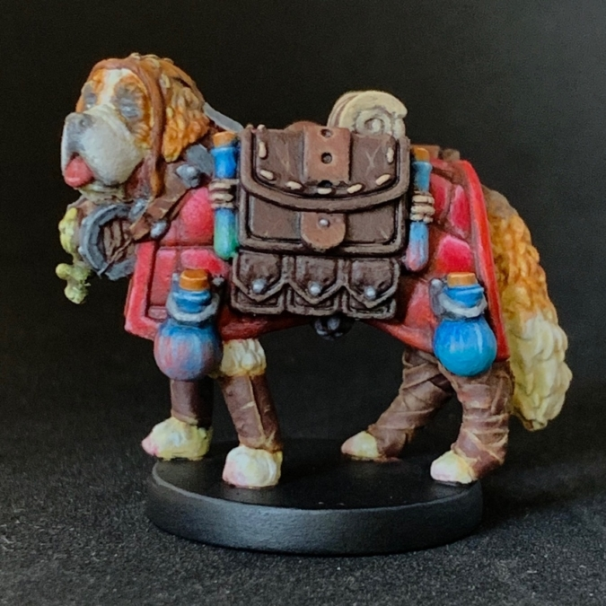 the St.Bernard Cleric