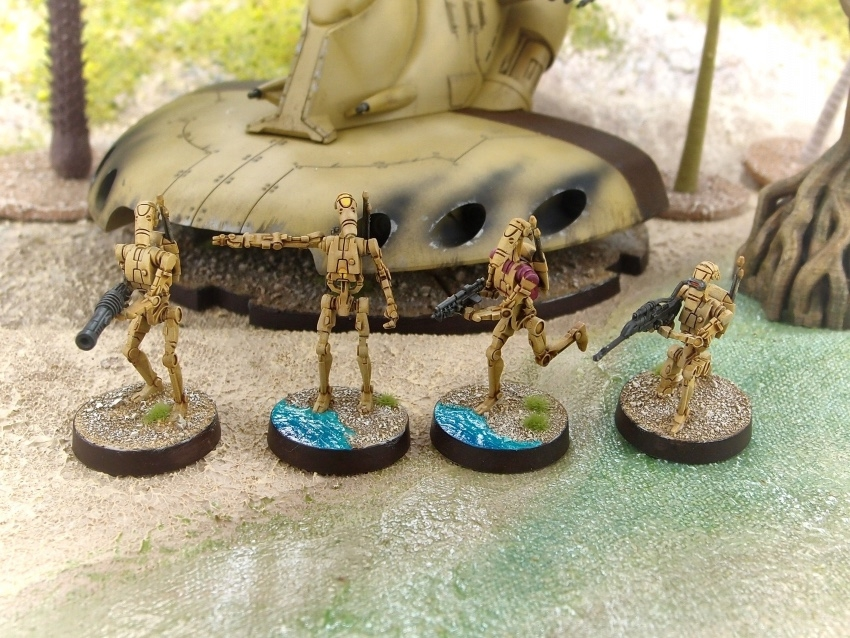 FFG / StarWars: Legion / B1 Battle Droids Unit Expansion