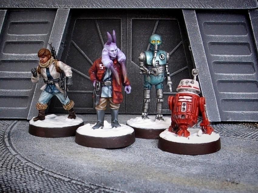 Rebel specialists / FFG / StarWars Legion