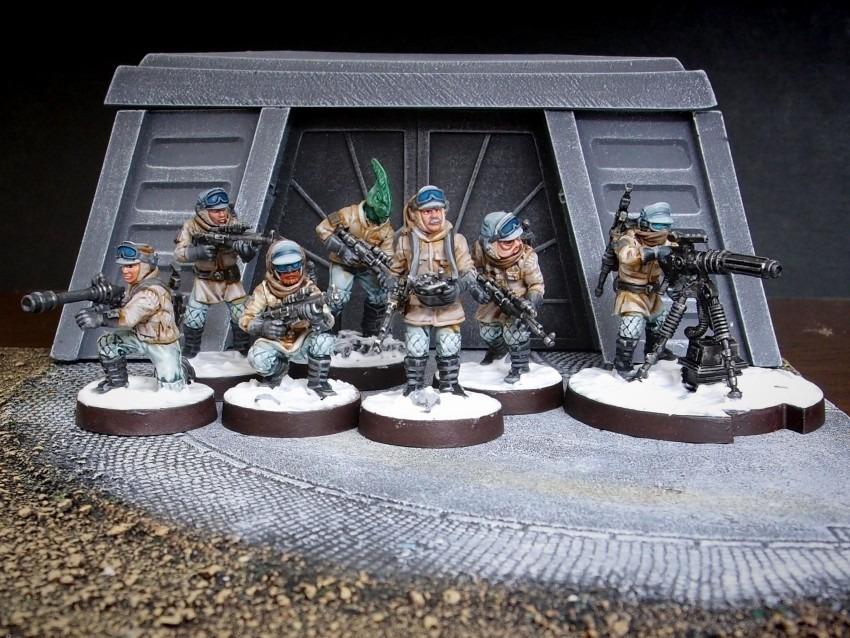 Rebel Veterans / FFG / StarWars Legion