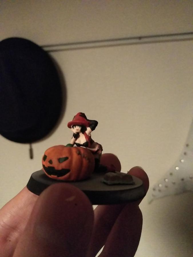 Aurora Model Halloween Witch